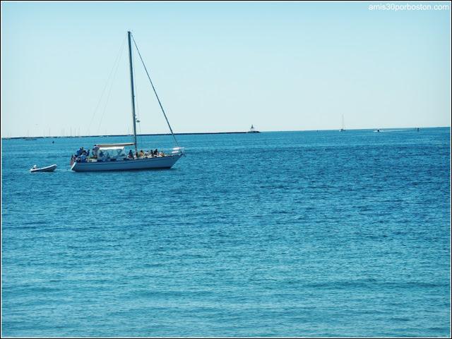 Vistas del Atlántico desde el Paseo Marítimo de Gloucester: Stacy Boulevard