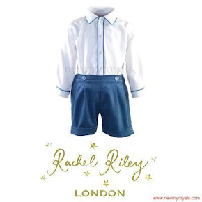 Prince George RACHEL RILEY Shirt and Shorts