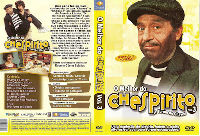 Série O Melhor do Chespirito Volume 3 DVD Capa