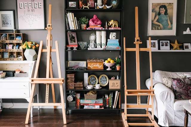 creative handletterer Doris wai's workspace