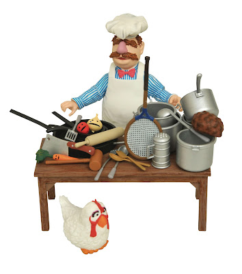 The Muppets Swedish Chef Deluxe Select Action Figure by Diamond Select Toys