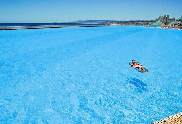Algarrobo, Chile - Piscina más grande del mundo