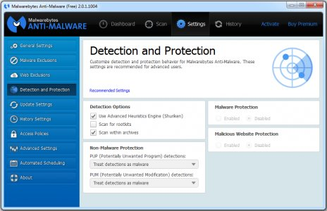 Malwarebytes Anti Malware v2.2.1.1043 For Pc