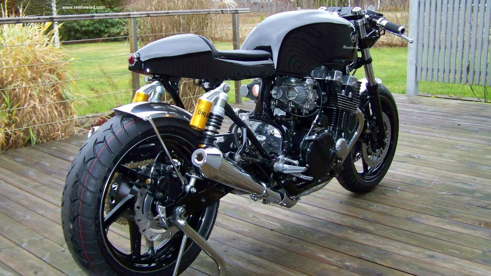 motogp honda cb 750 seven fifty caf racer by re cycles bikes rewheeled ab. Black Bedroom Furniture Sets. Home Design Ideas