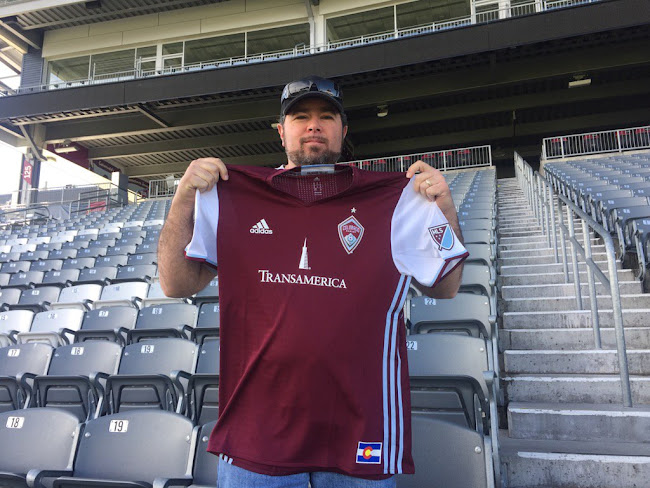 b63e2af2b MLS team Colorado Rapids today released their new primary jersey. The new Colorado  Rapids 2016 Home Jersey will be used on the pitch for the first time on ...