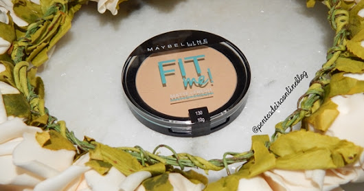 RESENHA| Pó Compacto FIT ME Maybelline