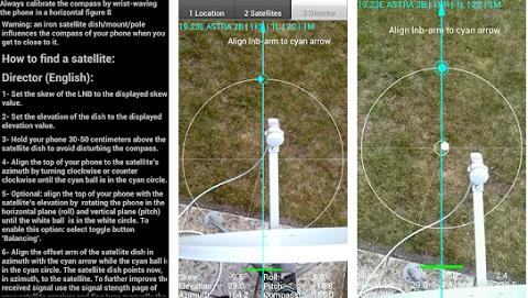 اليك 3 تطبيقات سوف تساعدك على تحديد مكان القمر الاصطناعي لاستقبال القنوات الفضائية بسهولة