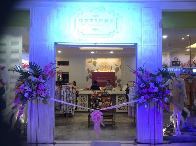 Options Boutique Opens Their Newest Branch in Festive Walk Mall, Iloilo City