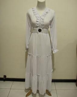 gambar model baju sifon gamis