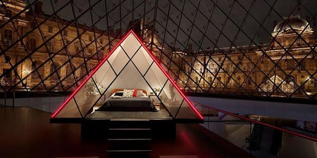 Airbnb Tawarkan Kesempatan Langka Mengingap di Museum Louvre