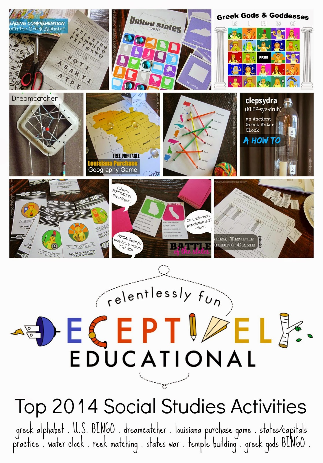 Relentlessly Fun Deceptively Educational Top 2014