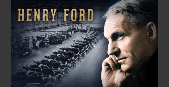 Fracasso dos Famosos - Henry Ford