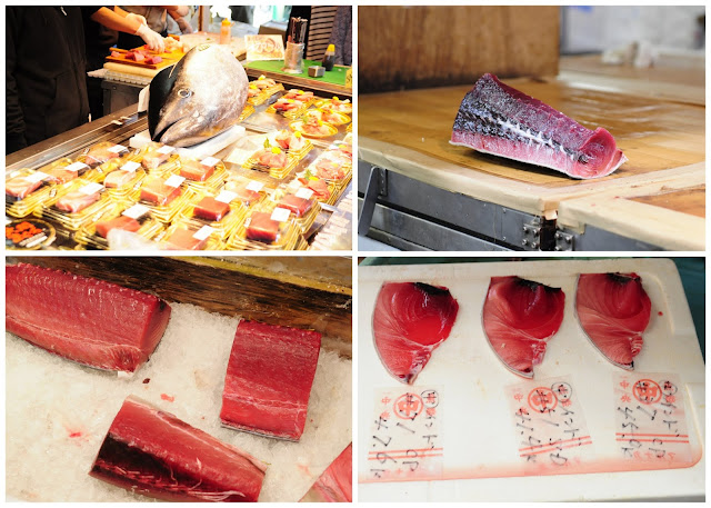 Fresh Fishes at Tsukiji Fish Market