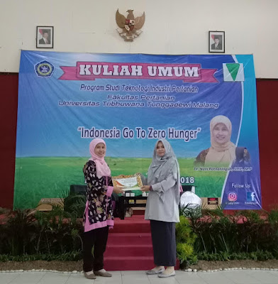 Himatip Gelar Kuliah Umum : Indonesia Goes To Zero Hunger