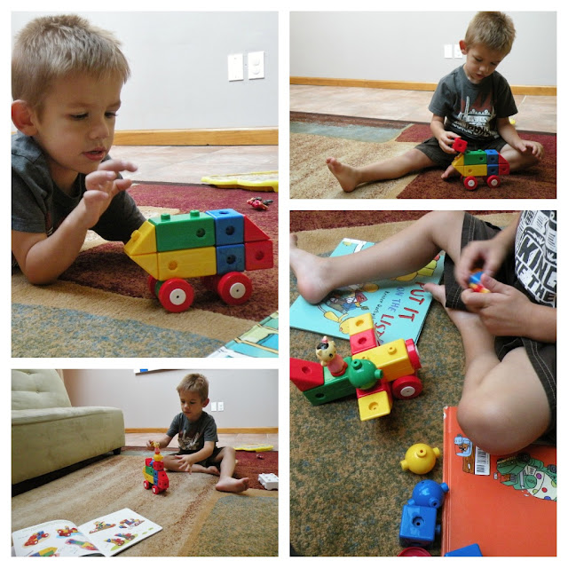 Learning from Colorshape Blocks