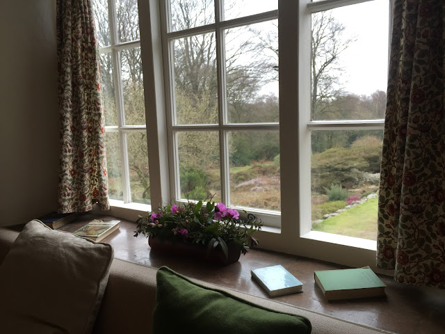 Stoneywell view to garden