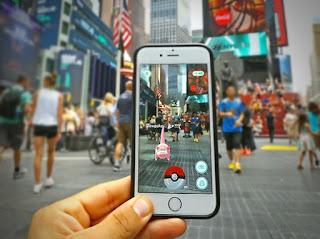 Promoção Pokémon Go em NY