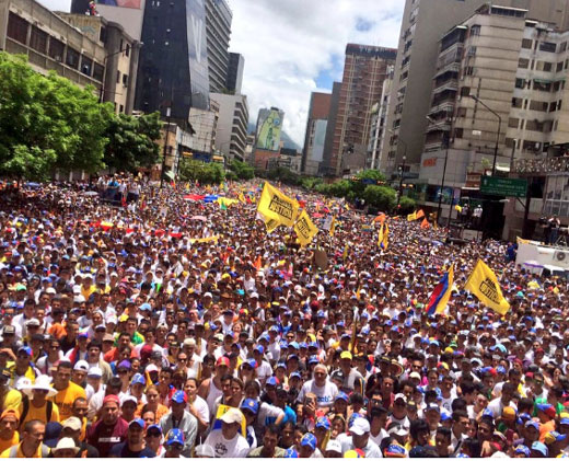 #Cobertura1S MUD presentó su agenda inmediata para exigir el revocatorio