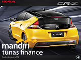Kredit Mobil Honda CRZ Bandung 2016