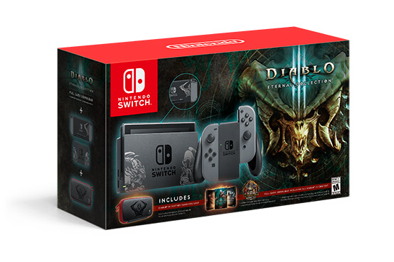 Blizzard Diablo III: Eternal Collection Nintendo Switch Bundle Announced