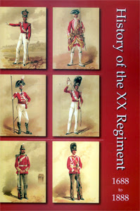 History of the XX Regiment 1688-1888