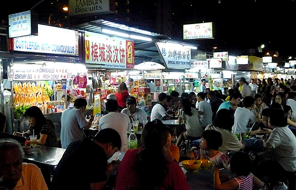Hawker Center Gurney Drive Penang