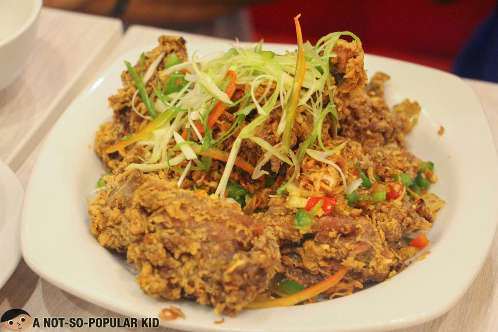 The tasty Salt and Pepper Chicken with Chili of Shi Lin in Binondo