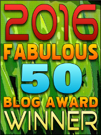 2016 Fabulous 50 Blog Awards