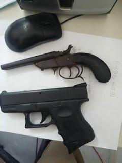 Suspeitos de assalto são presos