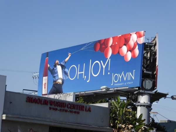 Oh Joy Joyvin wine billboard
