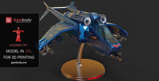 Valkyrie Vendetta 3D Print Model Warhammer40k