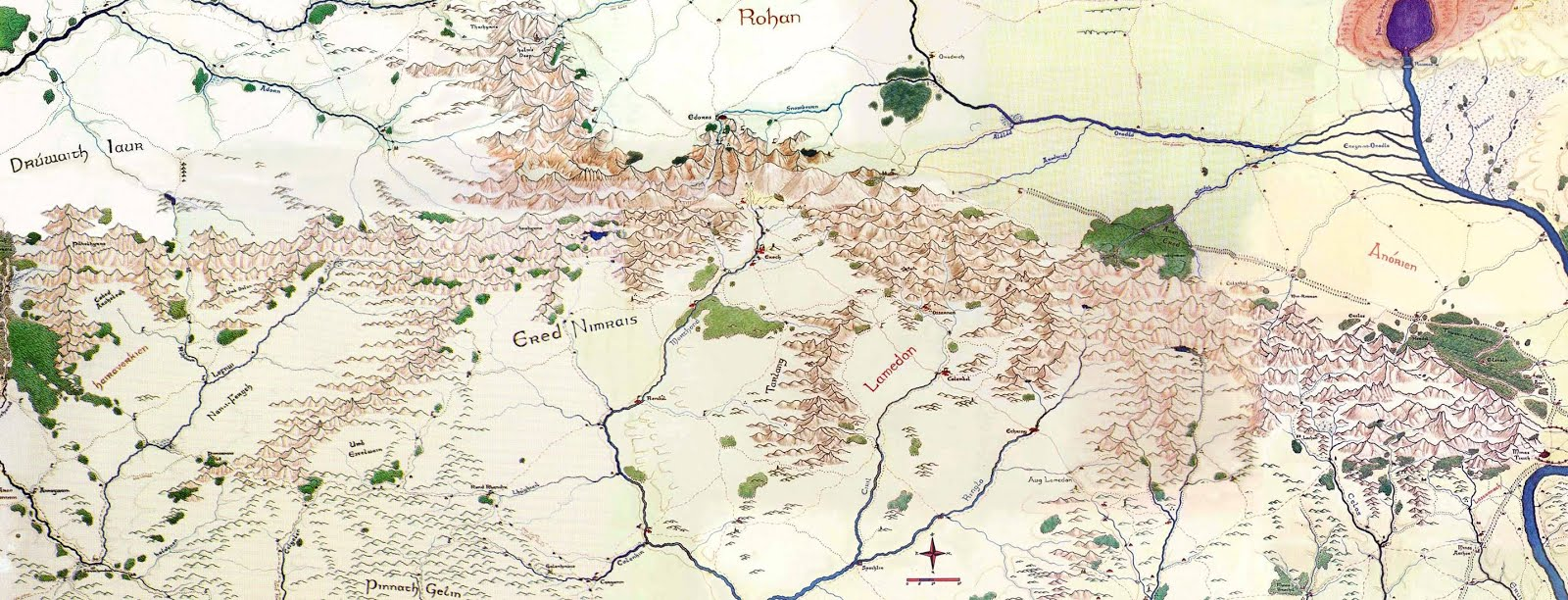 Akratic Wizardry: Maps! on lord of the rings map, the hobbit map, kingdoms of middle earth buildings,