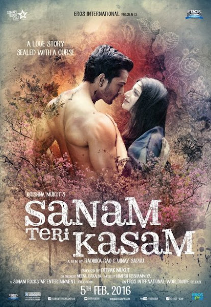 Poster Of Sanam Teri Kasam 2016 Hindi pDVDRip Full Movie Download