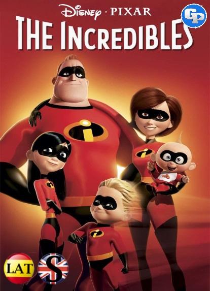 Los Increíbles (2004) HD 720P LATINO/INGLES