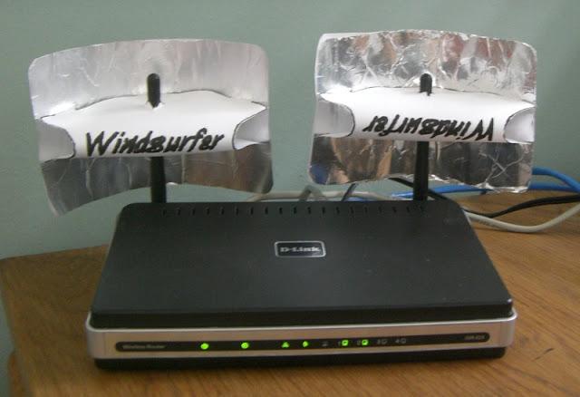 El papel de aluminio mejora la señal del wifi