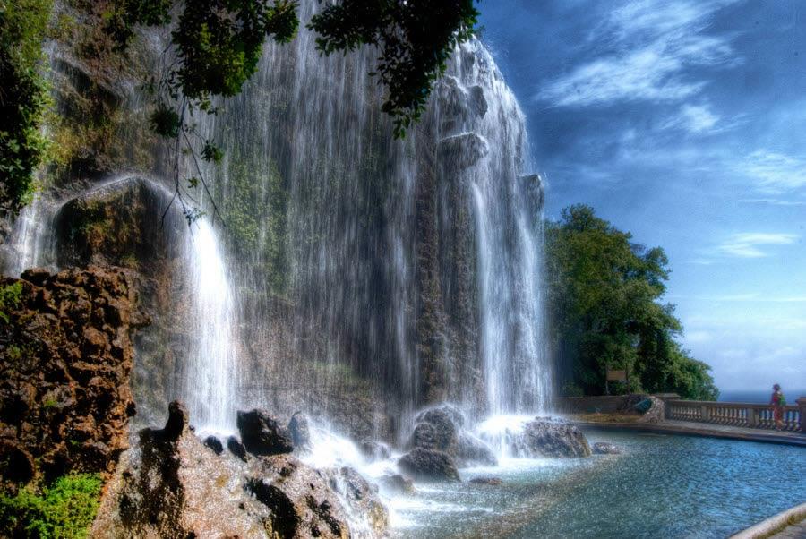 Cachoeira do Castelo em Nice
