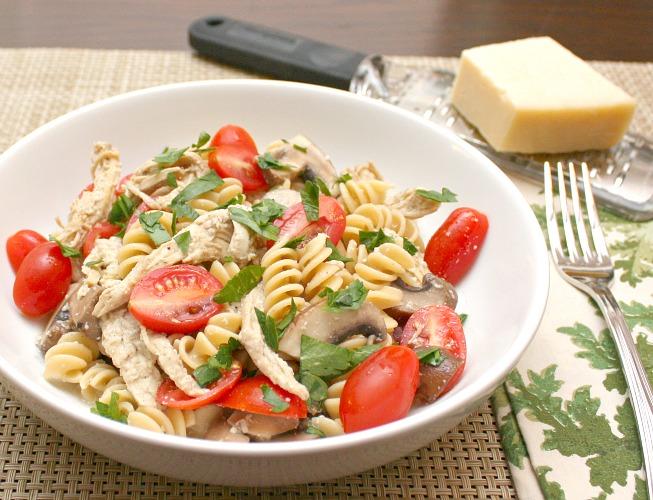 chicken tetrazzini pasta