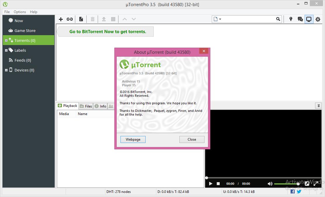 utorrent 3.5.0 crack скачать