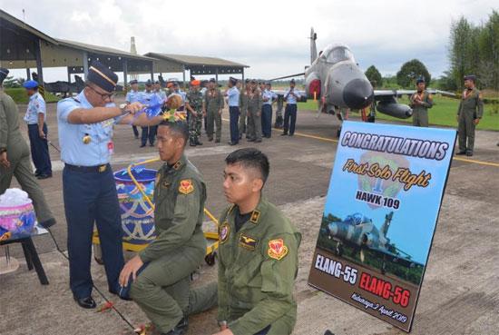 Gambar dari Pangkalan TNI AU Supadio. Kubu Raya. Kalbar