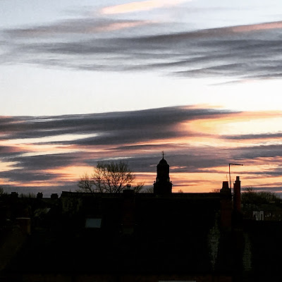 Sunset over St John's Wakefield