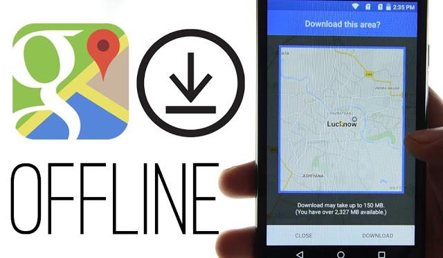 Gambar Google Maps Offline