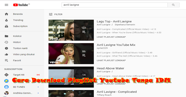 Cara Download Playlist Youtube Tanpa IDM