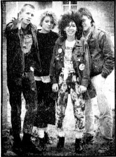 Alex Nuttall, Cheryl Joye (Psaryce Robinson), Jessie W., John -- Credit Daily Press