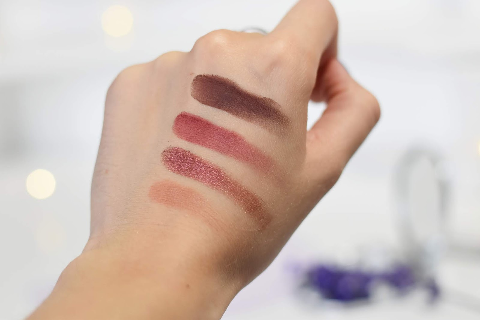 Colourpop give it to me straght swatches makeup