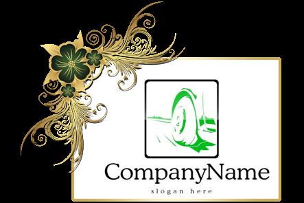 تنزيل تصميم شعار شركة سيارات جاهز للتعديل بالفوتوشوب, PSD Cars Company Logo design Download