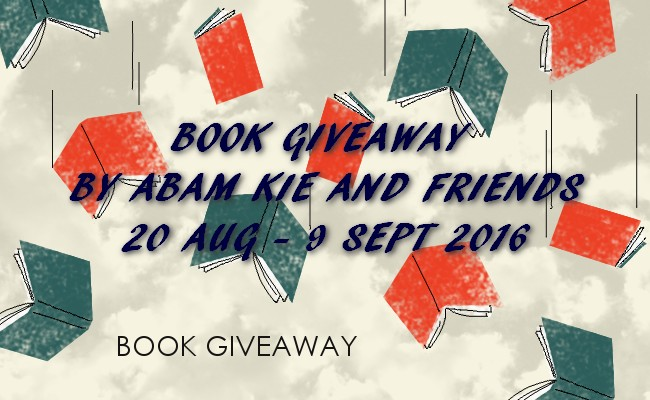 Book Giveaway by Abam Kie and Friends, Abam Kie, giveaway, buku percuma