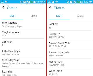 Cara Mudah Cek Spesifikasi Pada Smartphone Android