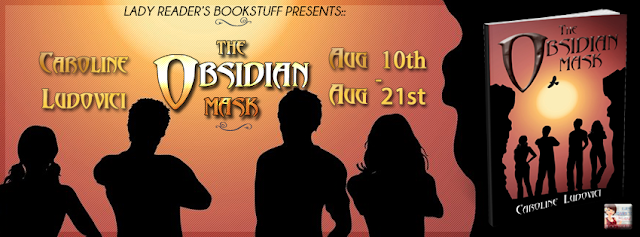 The @obsidianmask by Caroline Ludovici - #Review & a #Recipe (Breakfast Muffins & #YA)