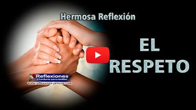 El Respeto es una de las bases sobre la cual se sustenta la ética y la moral en cualquier campo y en cualquier época. Tratar de explicar que es respeto, es por demás difícil, pero podemos ver donde se encuentra.