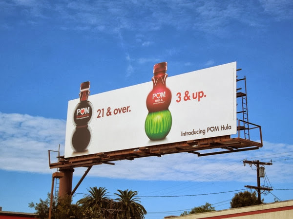 Pom 21 & over Pom Hula 3 & Up billboard